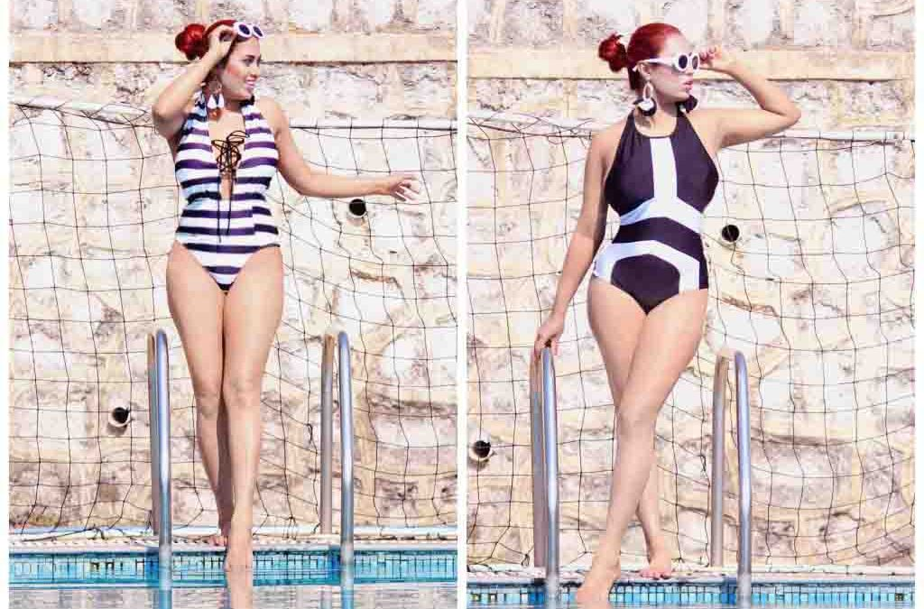 STYLE THIS SUMMER 2019 FOR WOMEN'S LOOK IS MONOCHROME BIKINIS- BRAND VS STREET-STYLE
